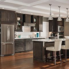 Aristokraft Kitchen Cabinets Modern Cabinet Doors The Open Floor Plan And Expansive Island In This