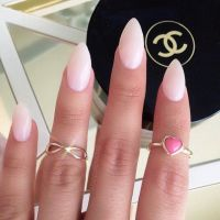 Natural stiletto nails | I believe in manicures ...