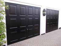 Best black garage doors ideas | virginia garage ...