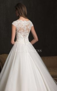 Button Back Wedding Dress