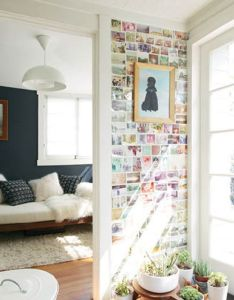 This is lovely to me the light and plants wall of small prints also rh pinterest