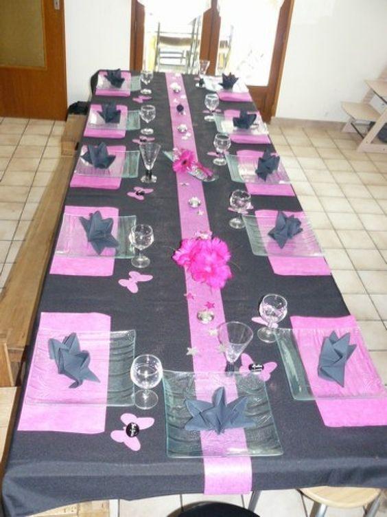 Deco Table Anniversaire Lgant Dcoration Anniversaire 04