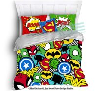 Superhero Bedding for Boys Bedding Twin by OurSecretPlace ...