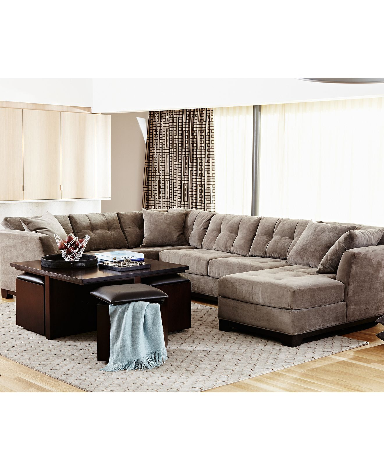 macy s elliot sofa two piece slipcover 39s fabric sectional with chaise decor