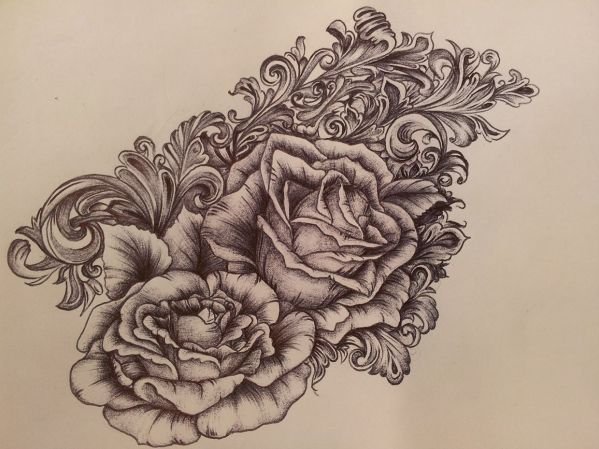 20 Victorian Scroll Tattoo Art Pictures And Ideas On Meta Networks