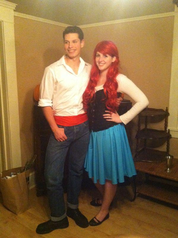 Disney' Little Mermaid. Ariel And Eric Costumes