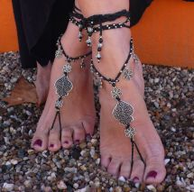 "Valentine' Day Filigree "" Heart Of Viana"" Barefoot"