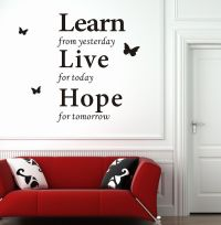 Modern Wall Decor | ... Wall-Decor-Stickers-Modern-Wall ...