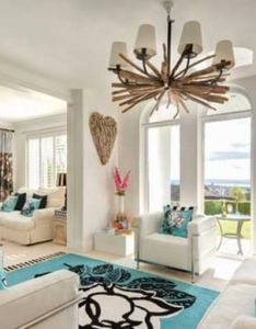 House also blue and white combination home decor pinterest living room rh za