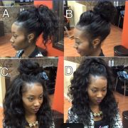 versatile sew in black hairstyles