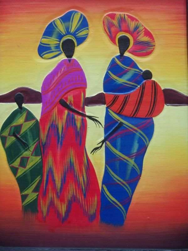 African American Abstract Art Paintings