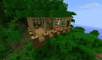 Simple House Plans Minecraft - Front Design
