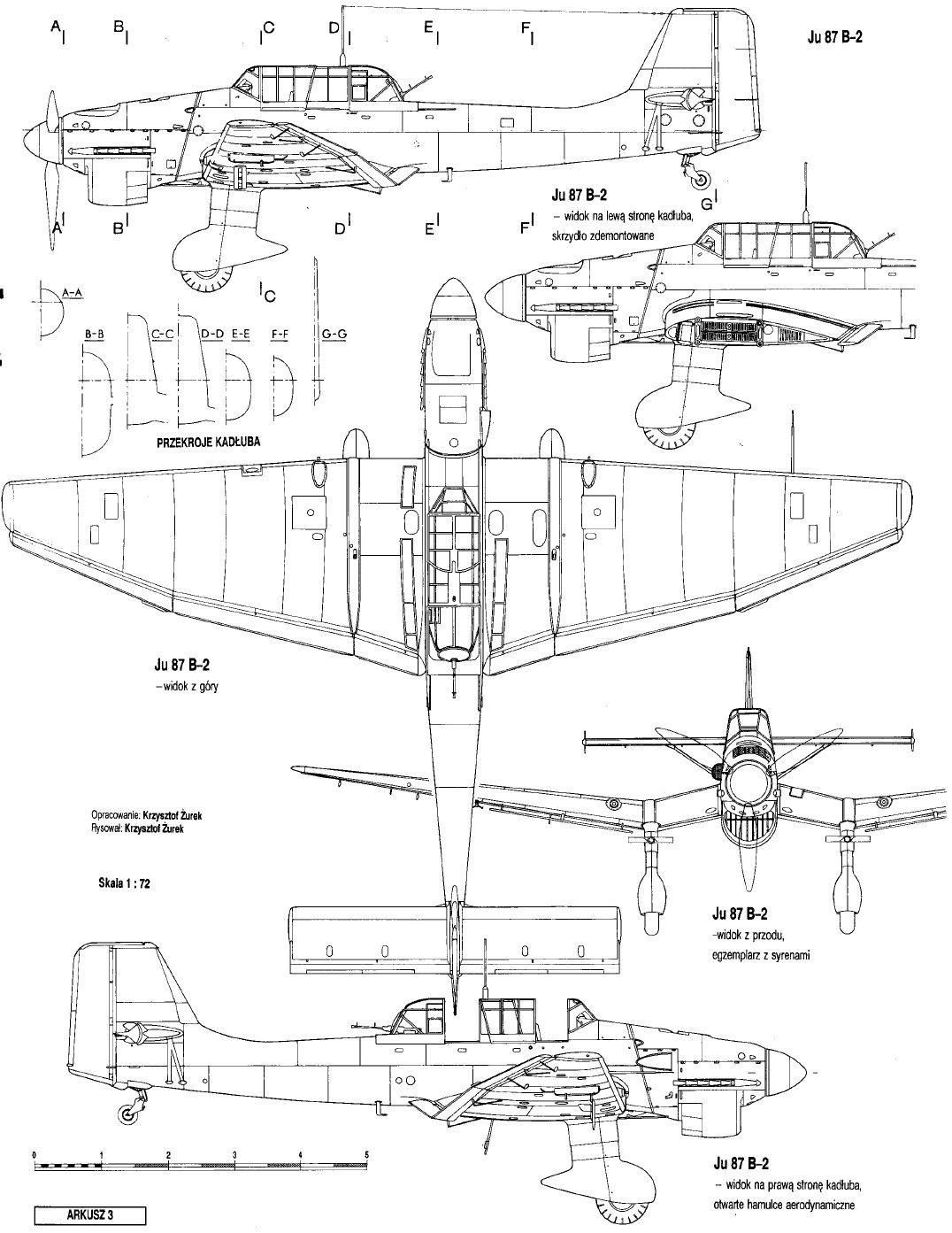 Ju 87b B 1 B 2
