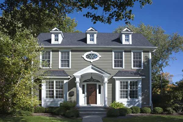 Paint Color Ideas For Colonial Revival Houses Wood Entry Doors