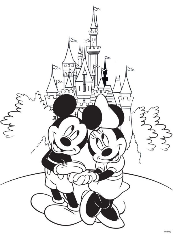 Free Disney Coloring Pages Books And Adult