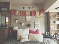 College Wall Decor. College Room And College Dorm Room ...