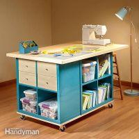 Ikea Kallax Hack: Craft Room Storage | Ikea kallax shelf ...