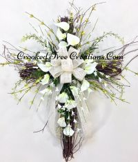 Grapevine Cross With Calla Lillies | Spring | Pinterest ...