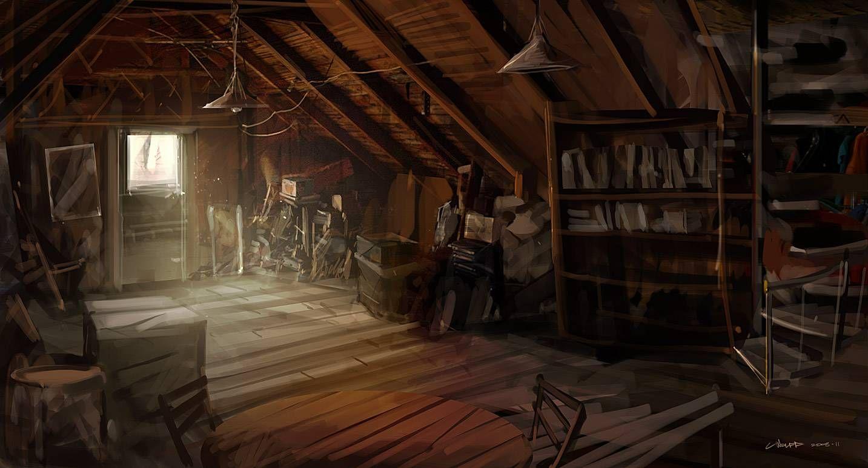 Old attics Google Search Before the Glass Idea Board