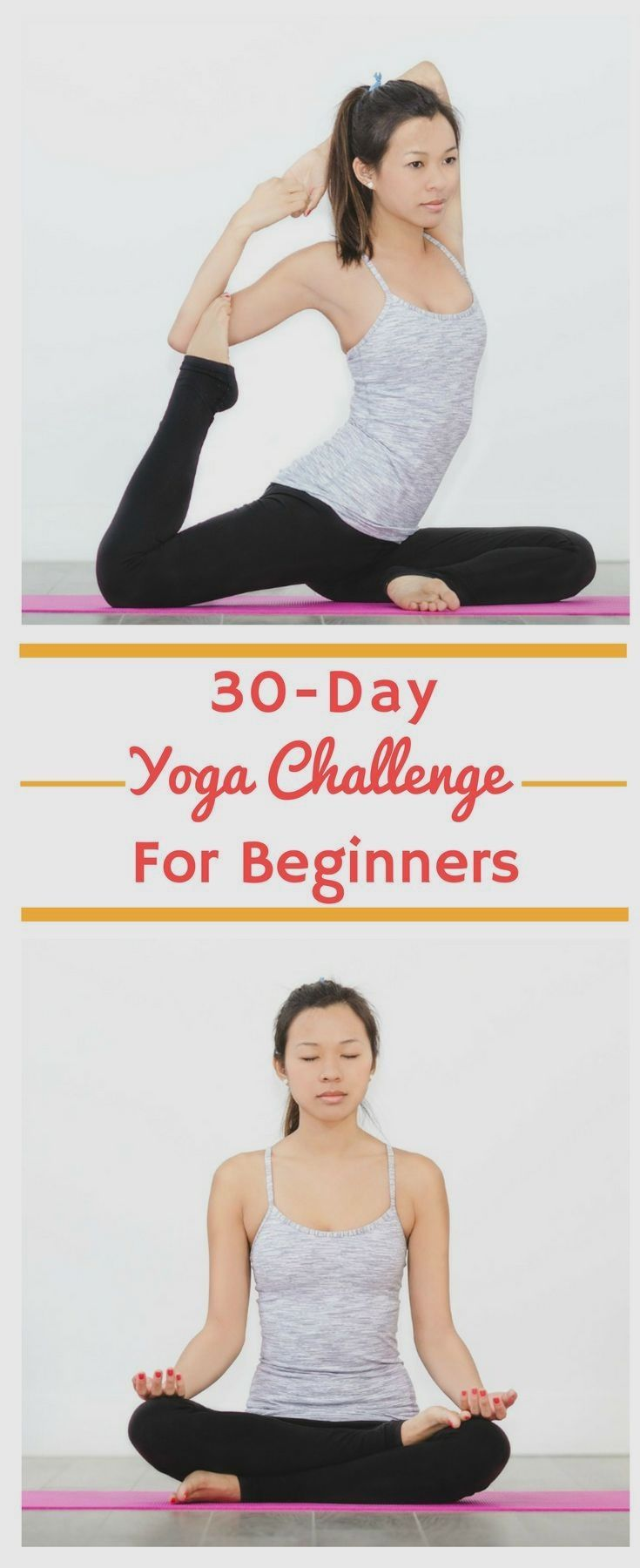 30 Day Yoga Challenge For Beginners A Free Workout