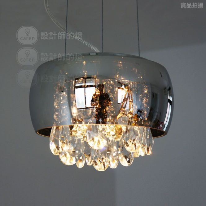 Brief Modern Bedside Entranceway Table Lamp Crystal Teardrop Pendant Light Mirror Free Shipping 87 00 Lighting Onlinependant