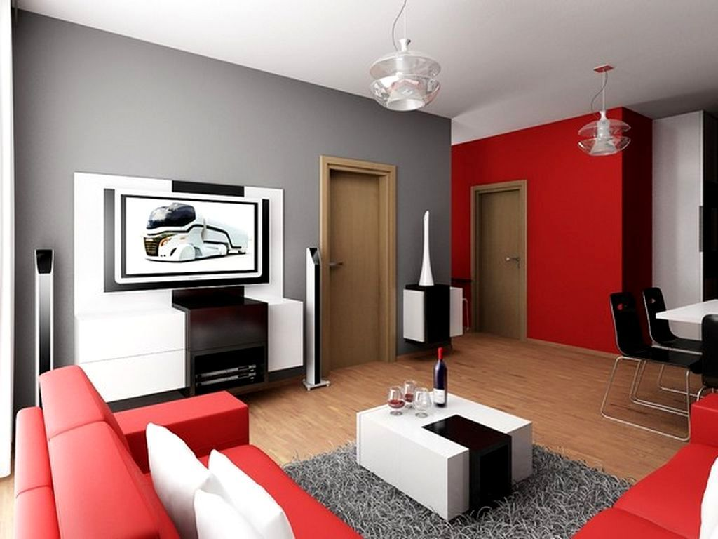 The beautiful design of red and black living room decor cool picture decoration ideas good large tv timber floor varnished also best images about amazing inspiring for your rh pinterest