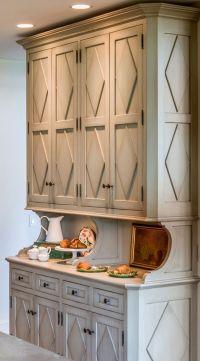 Kitchen Hutch cabinet. Dining Room kitchen Hutch cabinet ...