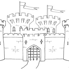 Castle Diagram Worksheet Wiring Symbol For Ground Medieval Coloring Pages Click On The Image A