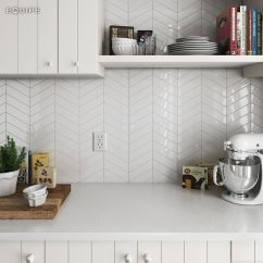 Wall Tiles For Kitchen Space Saving Tables These New Chevron Would Make A Stunning