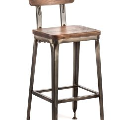 Industrial Chairs Target Forza Horizon 2 Gaming Chair Octane Bar Stool With A Wood Seat Gunmetal