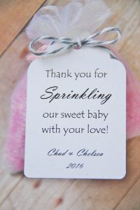 Baby Sprinkle Gift Tags by KendollMade (Baby Shower ...
