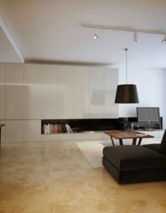 Modern minimalist black  white lofts home and interior design ideas homedecodesign also rh pinterest