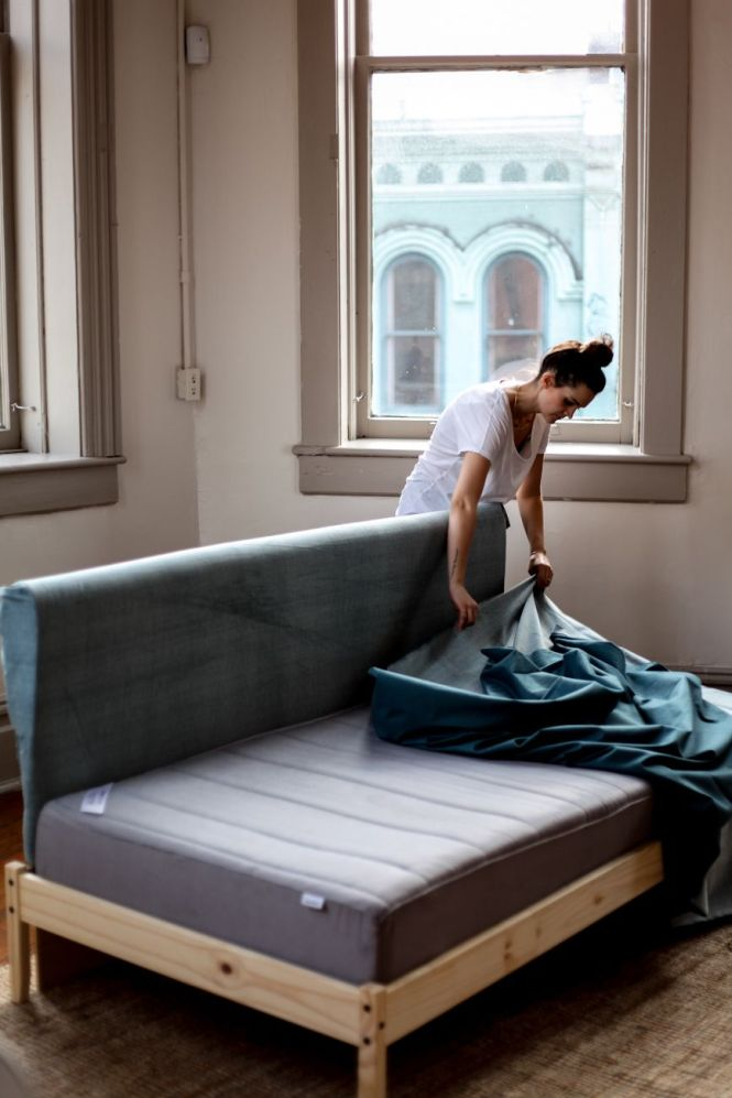 Twin Single Mattress Sofa
