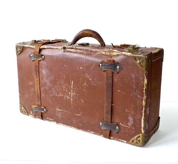 Cardboard Vintage Suitcase - Mc Luggage