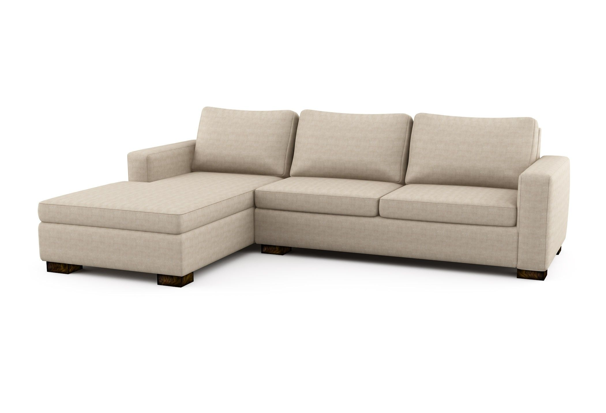 sofa w chaise kenton rio left sectional bed custom 4 370 00