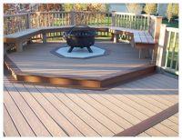 Best Fire Pit on Wood Deck Ideas - http://www.windwishes ...
