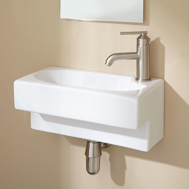 wall mounted kitchen sink remodel tucson hanser mount bathroom 403 penn pinterest