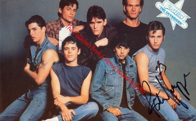 The Outsiders By S E Hinton Movie Tvs And Movie Tv