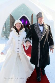Quebec Ice Hotel Wedding