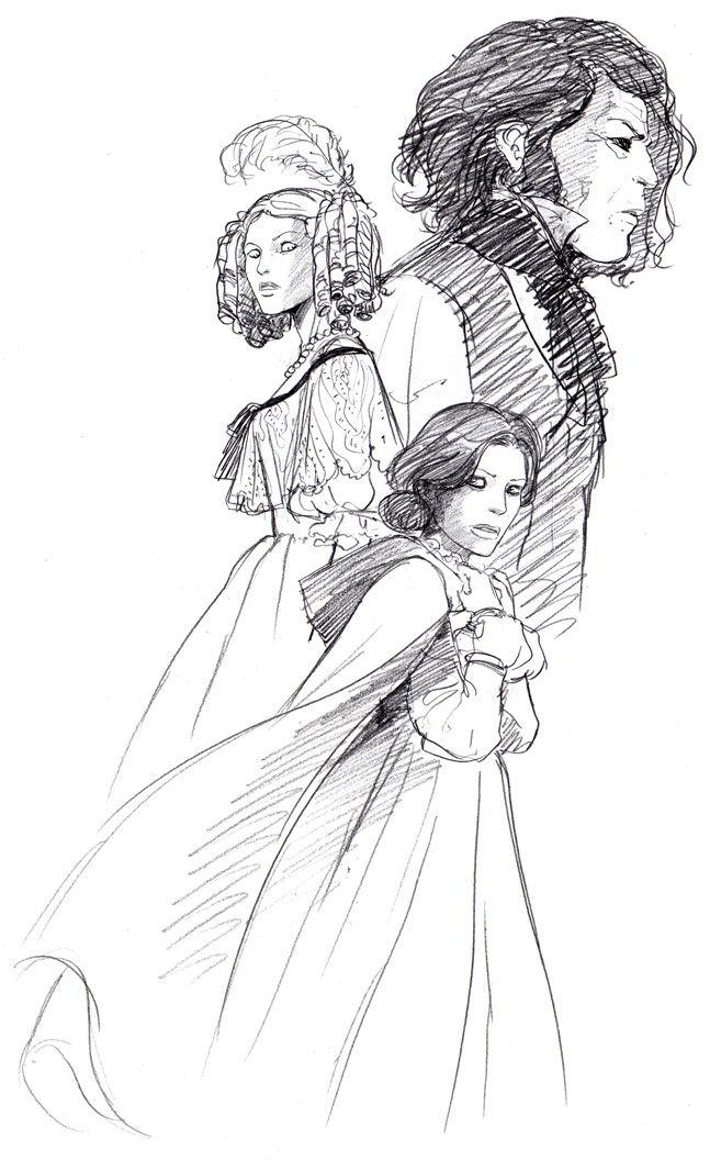 A fan-art for Jane Eyre, the Charlotte Brontë's novel