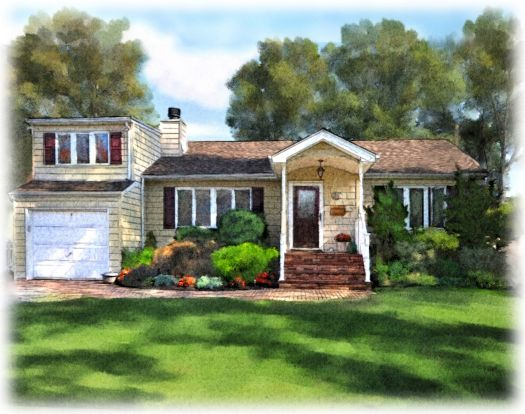 Watercolor Painting House Looking For Professional In Stamford Ct