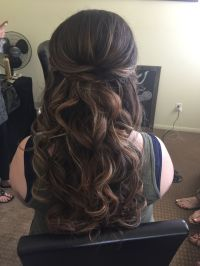 Show me your half up/down hairstyles with headband and