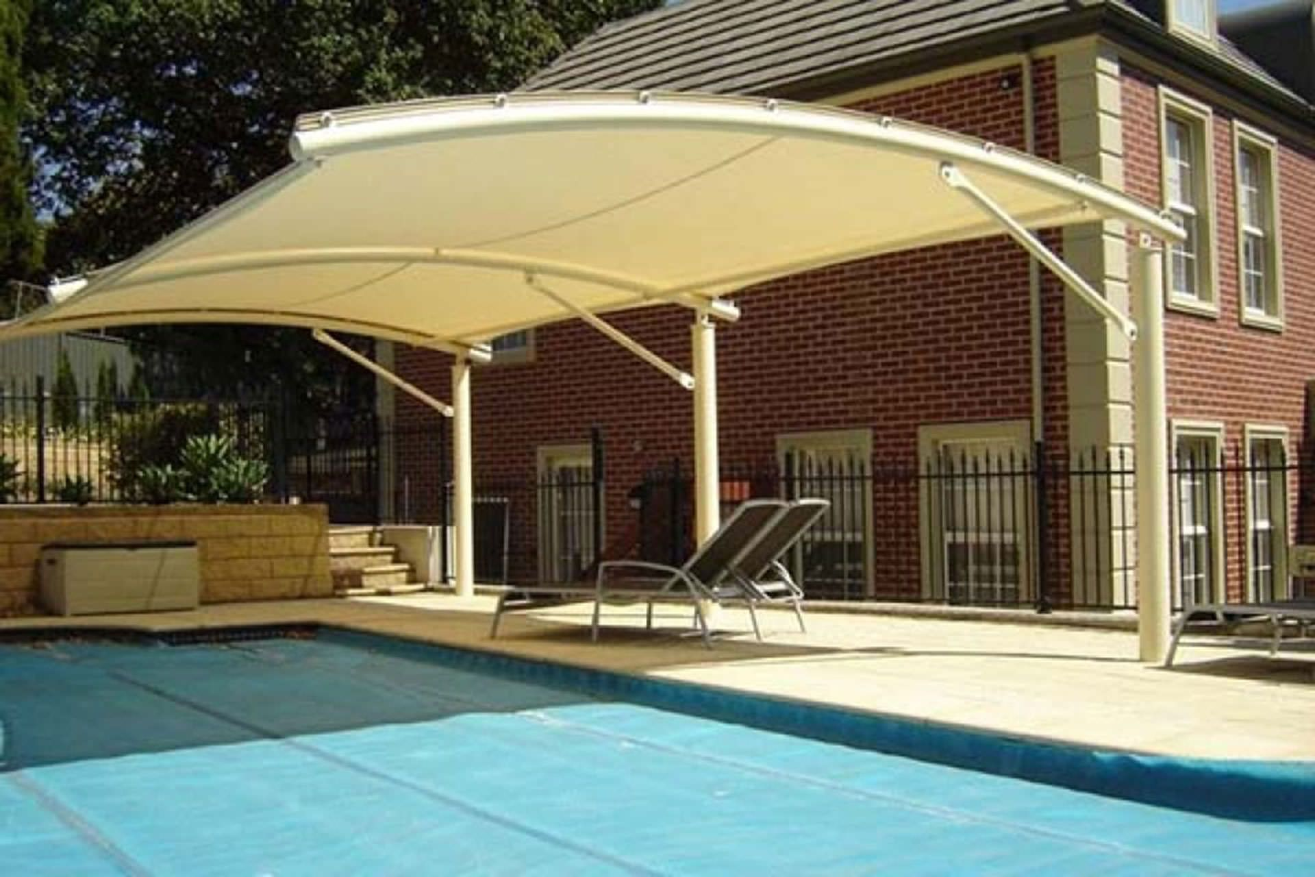 Pool Shade Ideas Cantilevered Landscaping Amp Outdoor