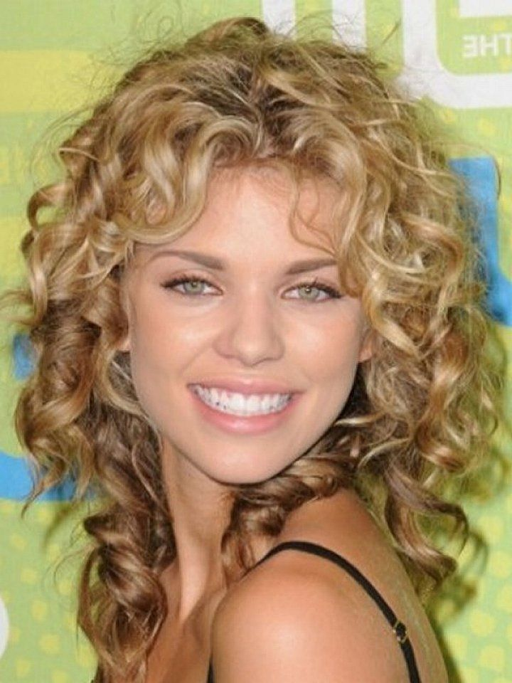 25 Short Curly Hair With Bangs  Shoulder length curly