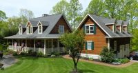 Traditional Country Home with wrap around porch in ...