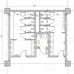 Wheelchair Housing Design Guide For Dogs Public Restroom With Separate Handicapped Toilet Royalty