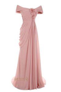 Off-the-shoulder Long Mother of The Bride Dress /Evening ...