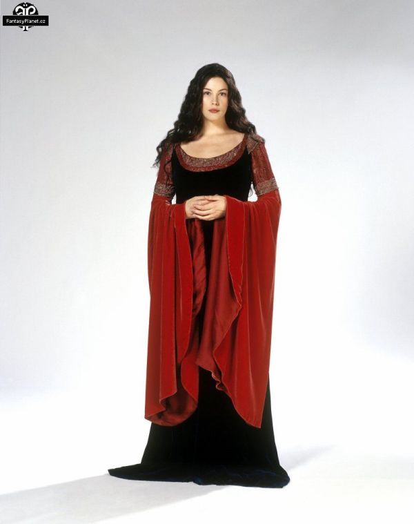 Lord of the Rings Arwen Red Dress