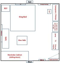 Feng Shui on My New Bedroom Layout - Feng Shui at Forum ...