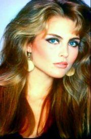 kim alexis 1980s hair and makeup